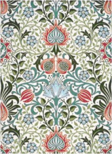 Persian Wallpaper William Morris Cross Stitch Pattern | eBay