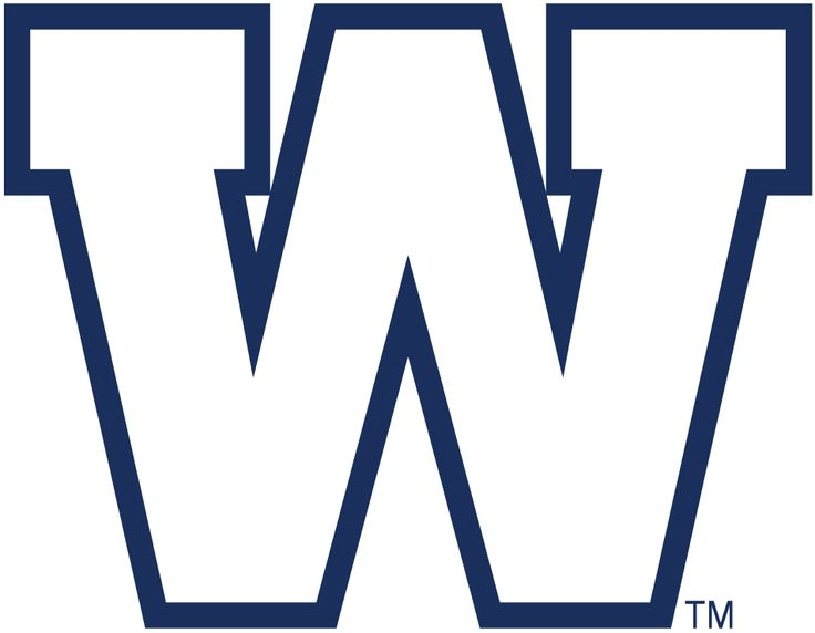 Winnipeg Blue Bombers Primary Logo (2012) -