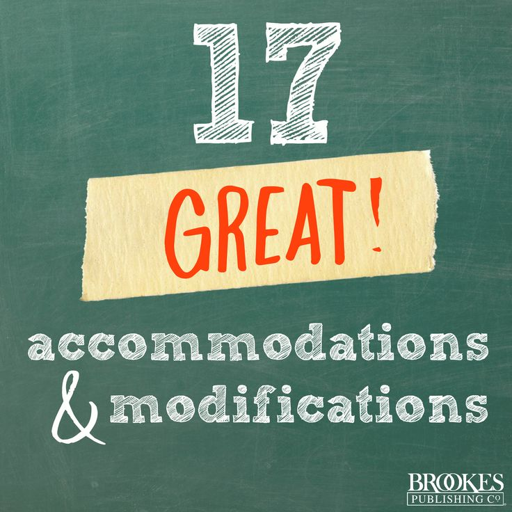 accommodating students with special needs Made to meet these students' special needs an accommodation is an adjustment to an activity or  109_testing_accommodations_modifications author: lferrell2205.