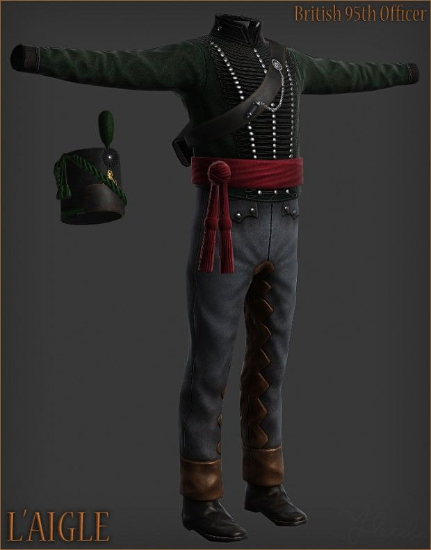 95th Rifles Update Image L Aigle Mod For Mount Blade Warband