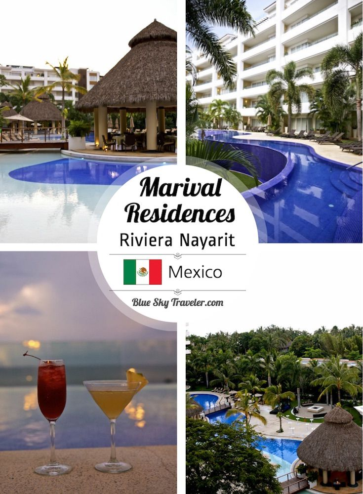 Getaway to Riviera Nayarit at the all-inclusive Marival Residences ->> See more on BlueSkyTraveler.com