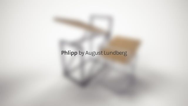 """""""Phlipp"""" - Furniture concept and animation by August Lundberg"""