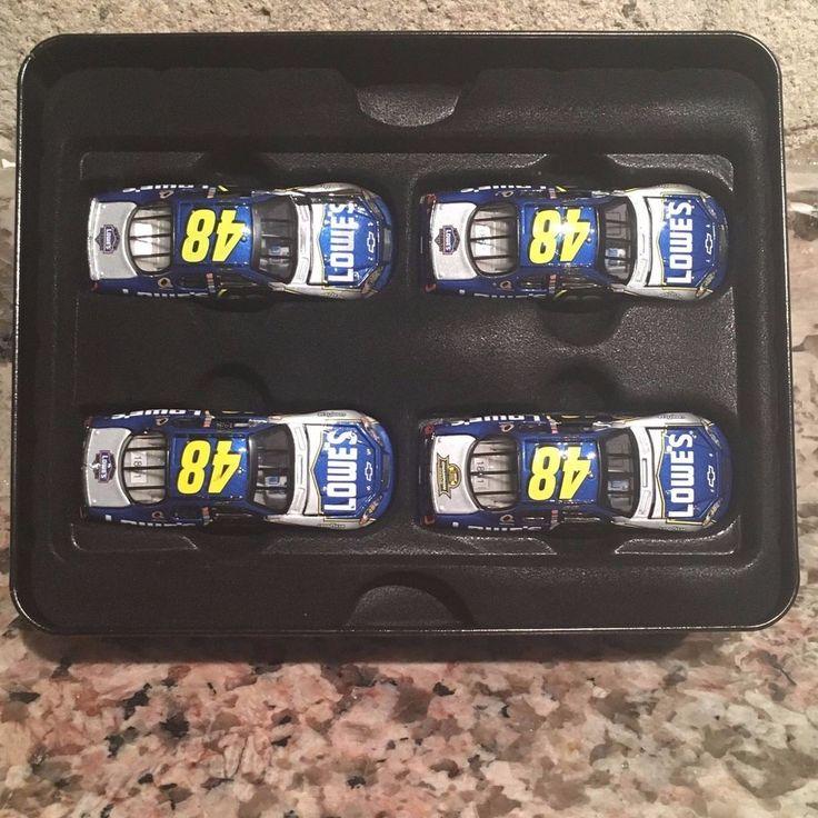 Jimmie Johnson No. 48 2006 Monte Carlo SS 4 Car Tin Set Owners Elite #MotorsportsAuthentics #Chevrolet