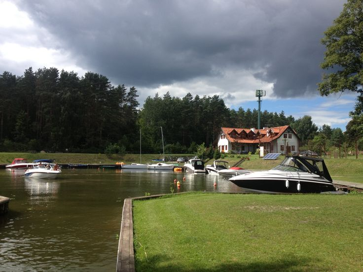 Marina in Gasior, Beldany Lake