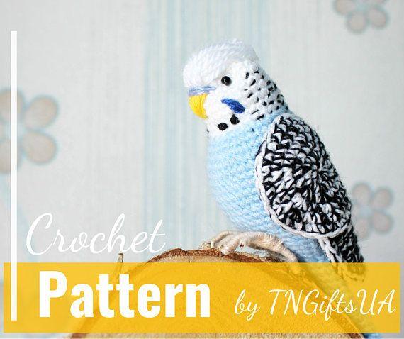 Ravelry: Chili the parrot pattern by Ildikó Strüning   478x570