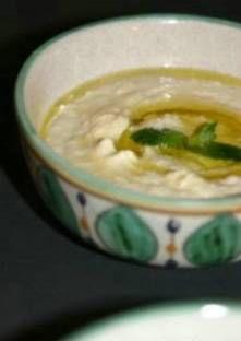 La purée d'aubergine (Baba ghanouge)
