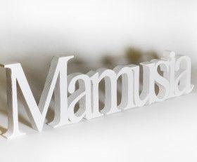 "Napis ""Mamusia"" Inscription ""Mummy"""