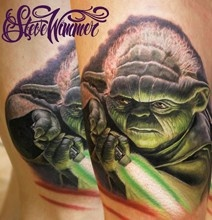Realistic-Colorful-Character-Tattoos