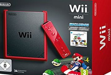 Nintendo of Europe GmbH Nintendo Wii mini - Game console - red, matte black Connector Type:Composite video output ¦ USB 2.0 ( 4 PIN USB Type A ), Controls:A button, B button, C button, Z button, 1 button, 2 button, analogue stick, cross control p (Barcode EAN = 0045496343255) http://www.comparestoreprices.co.uk/december-2016-week-1-b/nintendo-of-europe-gmbh-nintendo-wii-mini--game-console--red-matte-black.asp