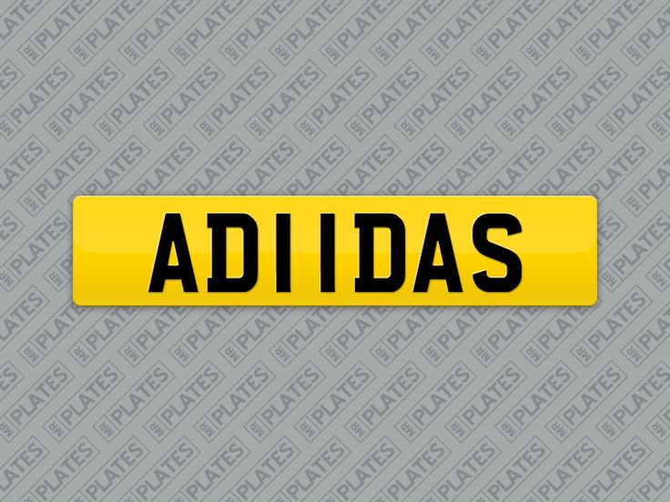 My AD11DAS number plates are for sale on MrPlates.