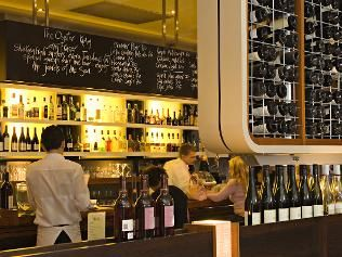 Must Winebar.  Also serves highly acclaimed French Bistro style food. (lunch and dinner) Also located in Margaret River.