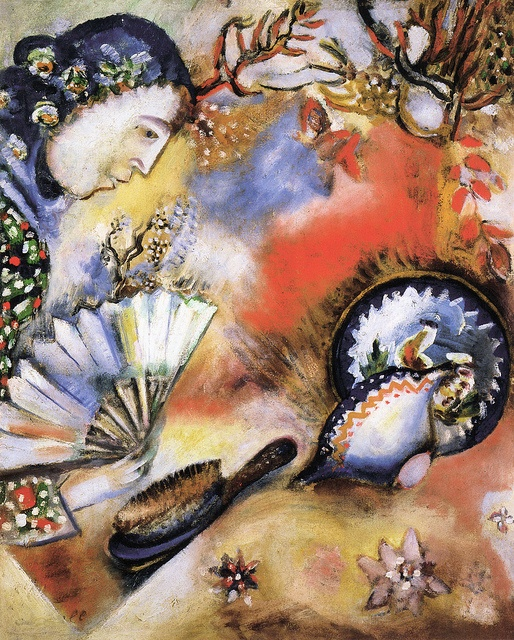 Marc Chagall - Composition at Kreeger Art Museum Washington DC by mbell1975, via Flickr