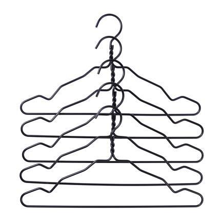 Hanger Wire hanger, black, Hay