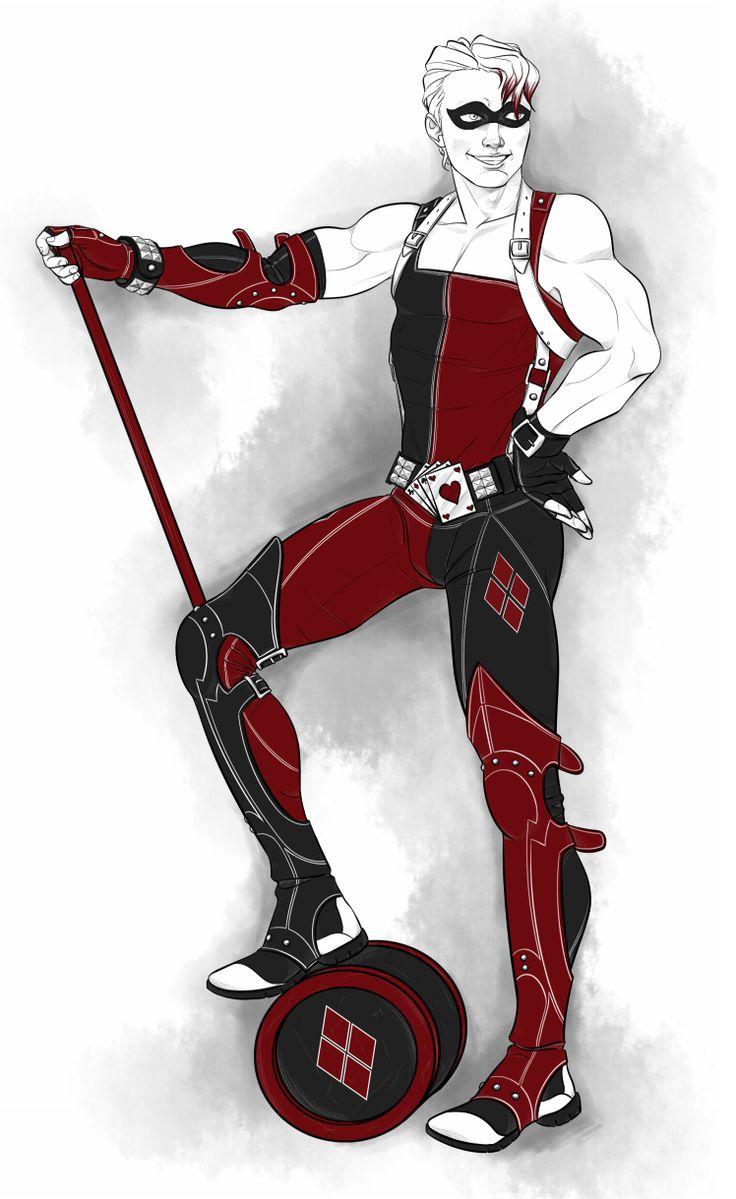 villainsinspandex:  Harley Quinn - Rule 63