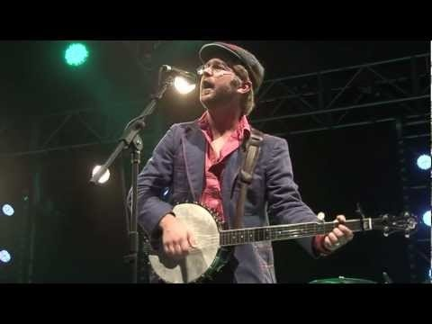 This was absolutely my favourite song and performance of 2012: 'Just Like A River', Old Man Luedecke.   He's amazing. Shrewsbury Folk Festival 2012