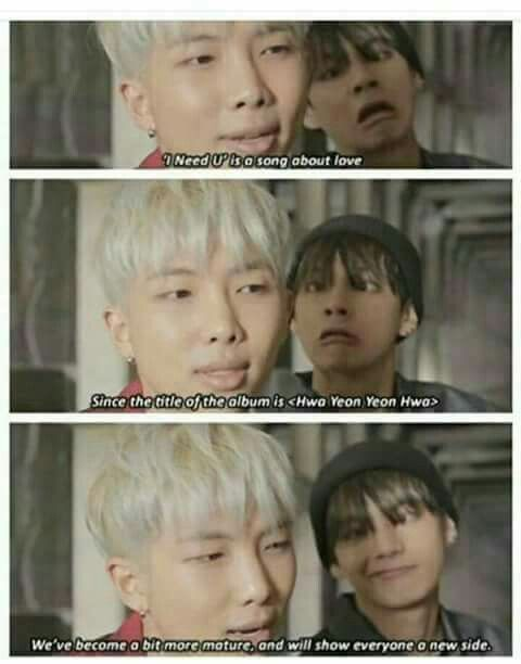 yes yes sure RM !! and V represents the mature type that You're talking about