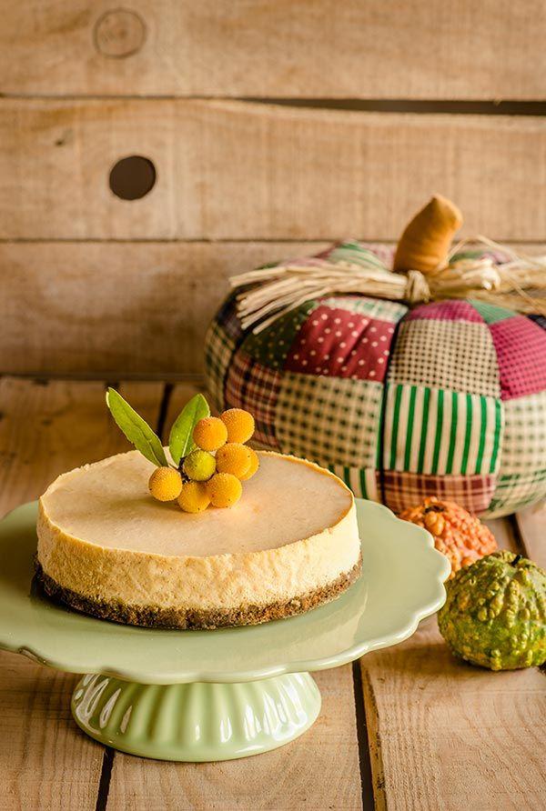 tarta de queso calabaza