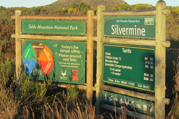 Silvermine Cape Point Route