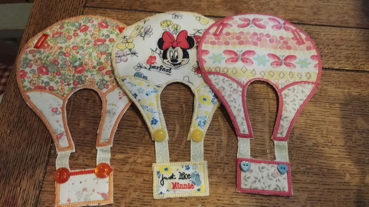 Bunting made from baby clothes
