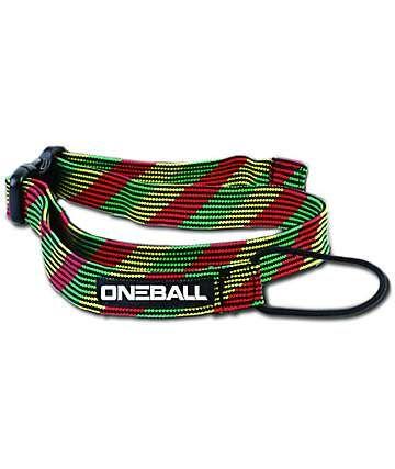 One Ball Jay Rasta Snowboard Leash