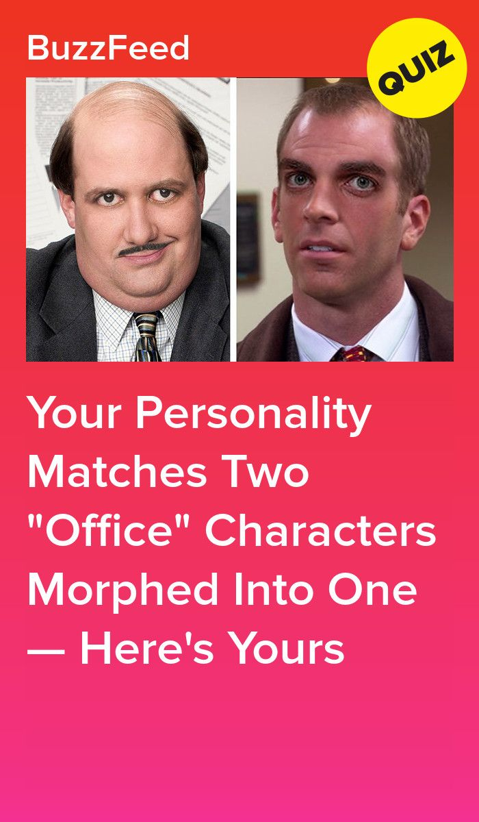 Your Personality Matches Two