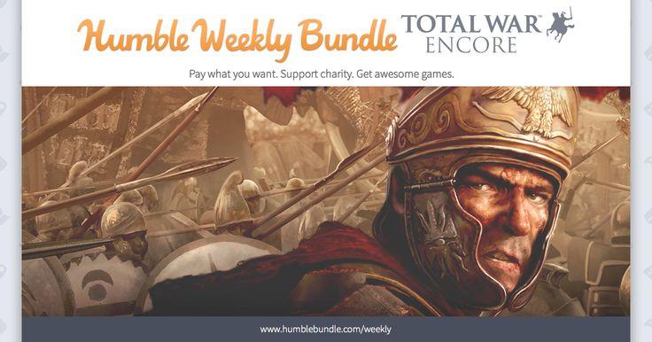 PC Digital Download (PWYW): Humble Total War Encore Bundle http://www.lavahotdeals.com/us/cheap/pc-digital-download-pwyw-humble-total-war-encore/50141