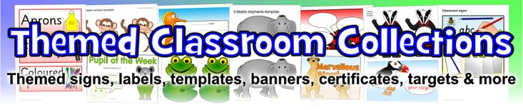 Themed Primary School Classroom Collections - SparkleBox