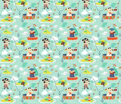 16 best pirate bedroom images on pinterest pirate for Kids pirate fabric