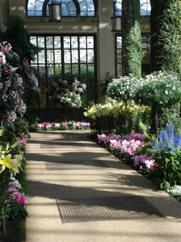 ConservatoryBeautiful Flower, Indoor Gardens, Glasses Ceilings, Gardens Greenhouses, Dreams House, Beautiful Longwood, King Hands, King Queens, Conservatory Full