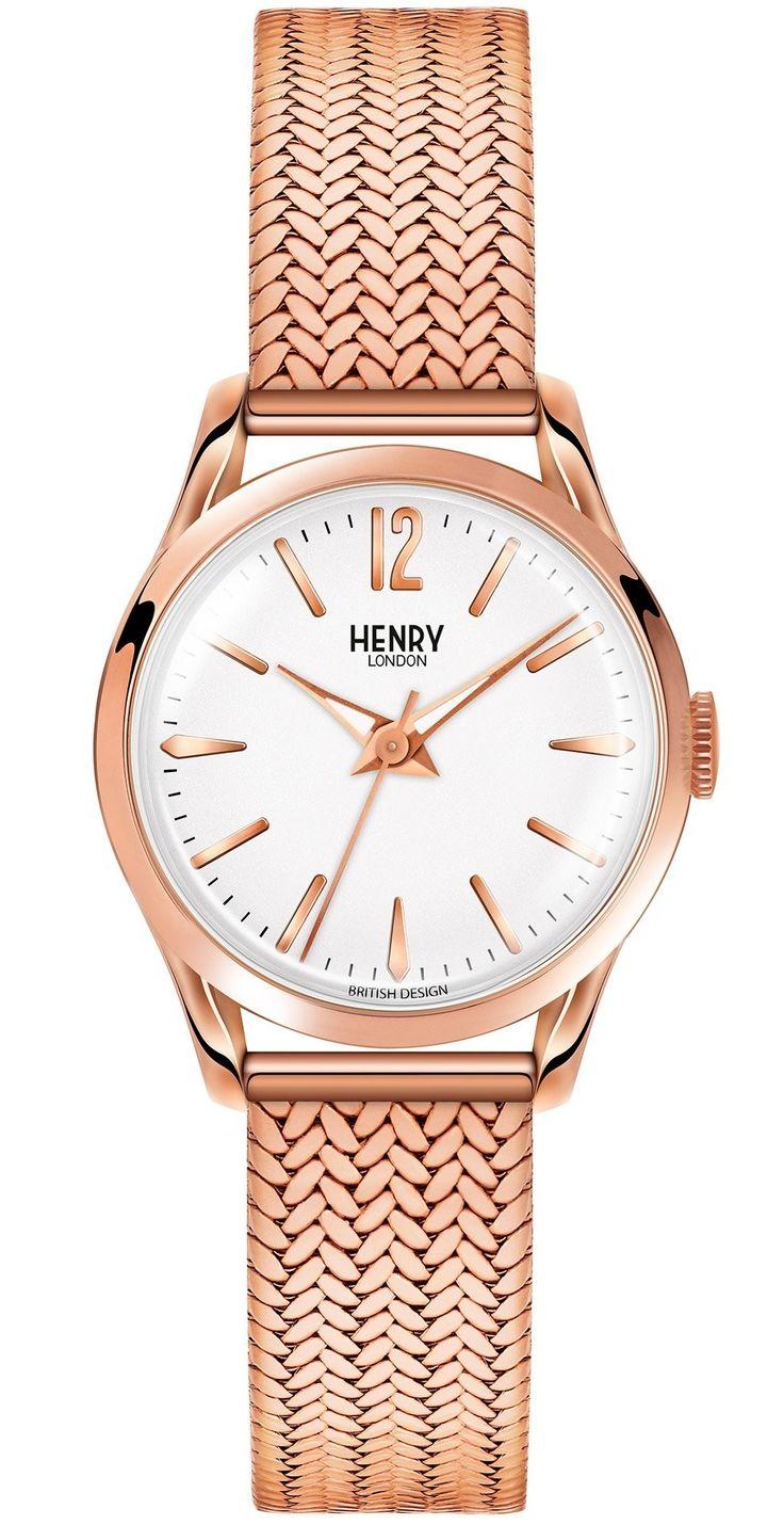 HLNP HL25M0022 Henry London Richmond Ladies Rose Gold