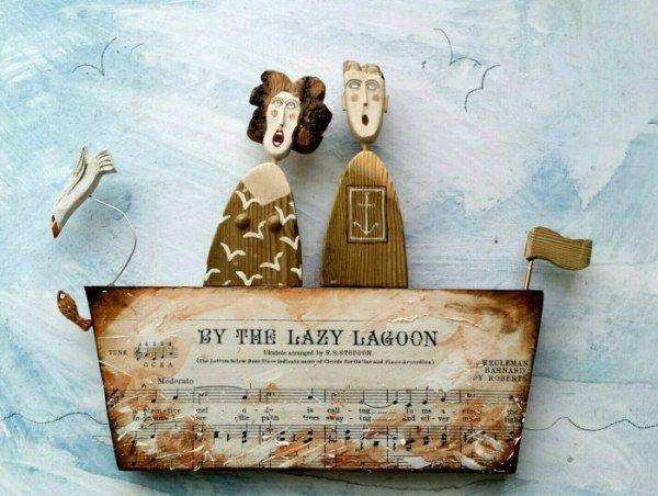 Очаровательные деревянные куклы (20 фото)