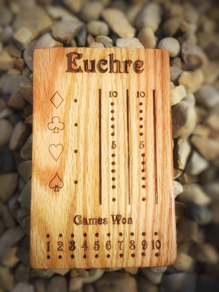 Euchre Board Game by LasersEdgeDesignRD on Etsy