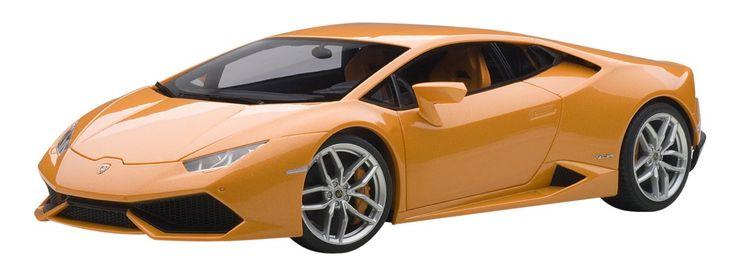 Amazon.com: Lamborghini Huracan LP610–4Arancio Borealis, color naranja metalizado 1/18by AUTOart 74603: Toys & Games