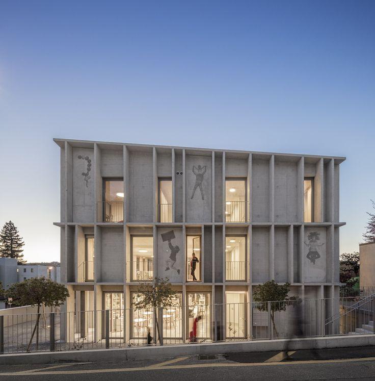 Galerie des Eckturmpädagogischen Gebäudes / Krausbeck Architekt + GSMM Architetti – 7