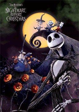 Jack Skellington in Halloweentown - The Nightmare before Christmas