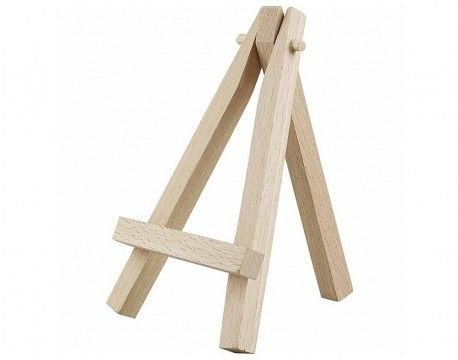 10 Mini Wooden Easel Stands for Wedding Crafts   the littlecraftybugs company