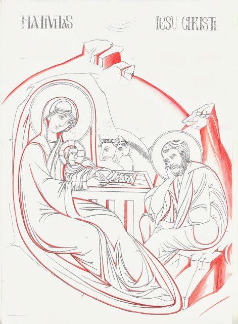 """Studio icona """"Sacra Famiglia nella Natività"""" - Giuliano Melzi - Picasa Web Albums"""