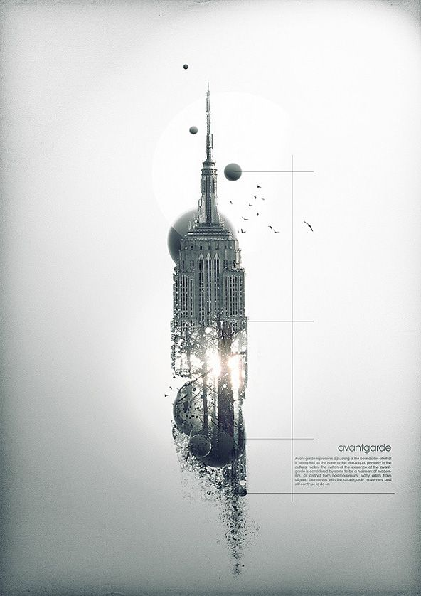 lovely imaginative work / Maxime Quoilin: Design Inspiration, Empire States Building, Poster Design, Design Projects, White Spaces, Graphicdesign, Graphics Design, Maxim Quoilin, Forefront