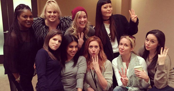 Pitch Perfect 3 Cast Reunites in First Photo as Shooting Begins -- Rebel Wilson shares the first photo from the set of Pitch Perfect 3 as production begins on the highly-anticipated musical sequel. -- http://movieweb.com/pitch-perfect-3-production-start-cast-photo/
