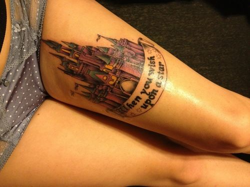 113 best images about mejores tatuajes 3d on pinterest for Disney world tattoos