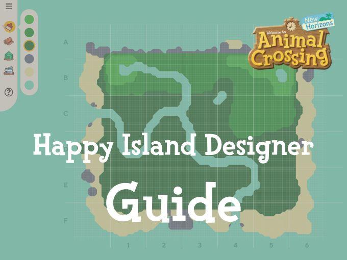 Happy Island Designer Guide in 2020 | Animal crossing, Map ...