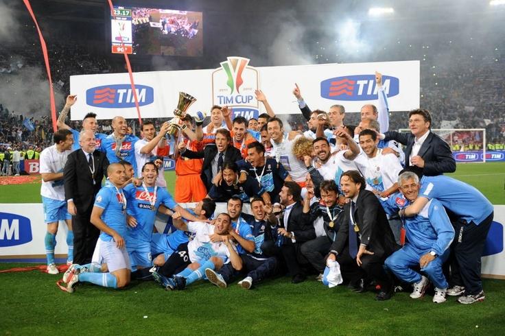 Napoli!!!!  2012 Coppa Italia champions.  <3