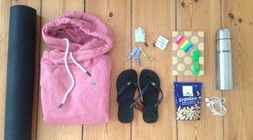 Yoga Urlaub Packliste