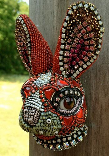Fantastic bead sculptures by Betsy Angkvist - Viola.bz