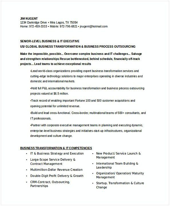 The 25+ best Executive resume ideas on Pinterest Executive - functional resume template free download