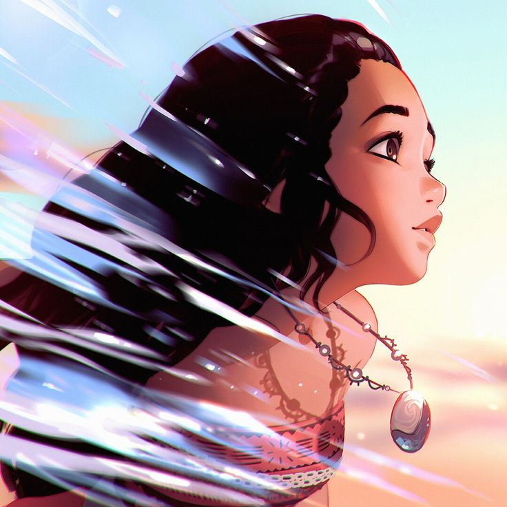 'Moana' drawing steps (swipe to see all)!  You can support me and get access for more steps, high-res, videos etc at my Patreon page (link in bio)