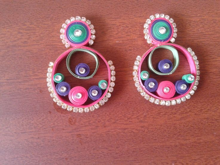 17 Best images about quilling. 1 on Pinterest Paper jewelry, Quilling and Chain earrings