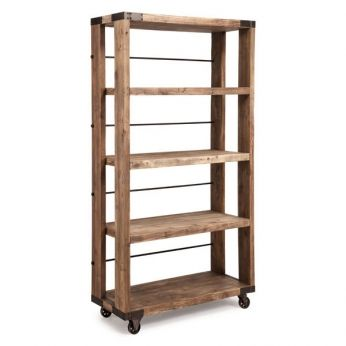Newcomb Wide 4 Level Shelf - Zuo Era - Available at Warehouse 74