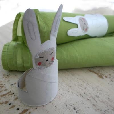 Pour les serviettes de paques