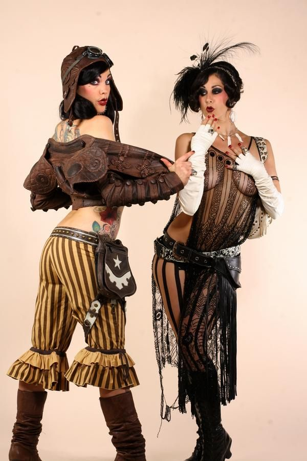 Costume inspiration, and all around adoribleness. Zoe Jakes & Rachel Brice
